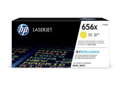 HP 656X (CF462X) High Yield Yellow Original LaserJet Toner Cartridge (22000 Yield)
