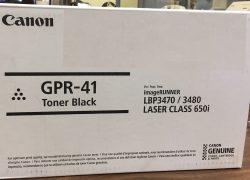 Canon 3480B005AA (GPR-41) Original Black Toner / Drum Cartridge (New in box Customer Return)