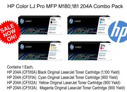 HP 204A Combo Original HP Laserjet Toner Cartridge Black, Cyan, Magenta & Yellow